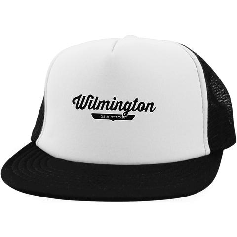 Wilmington Trucker Hat with Snapback - The Nation Clothing