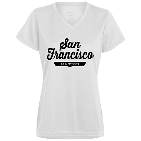 San Francisco Women's T-shirt - The Nation Clothing
