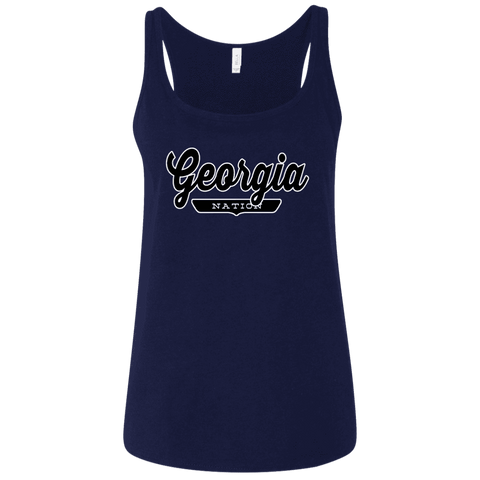 Georgia Women's Tank Top - The Nation Clothing
