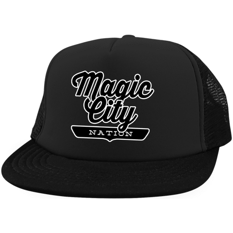 Magic City Trucker Hat with Snapback - The Nation Clothing