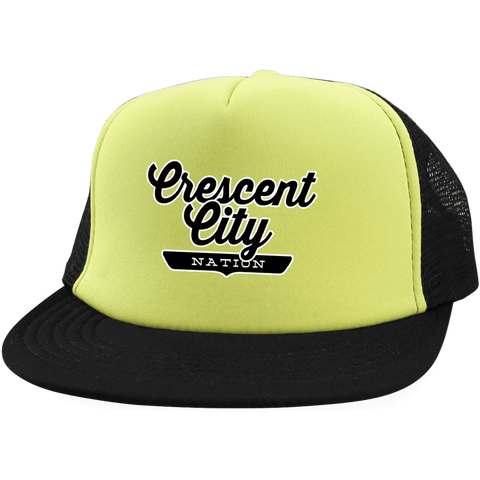 Crescent City Trucker Hat with Snapback - The Nation Clothing