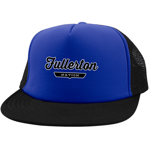 Fullerton Trucker Hat with Snapback - The Nation Clothing