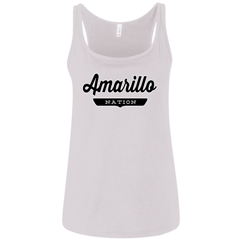 Amarillo Women's Tank Top - The Nation Clothing