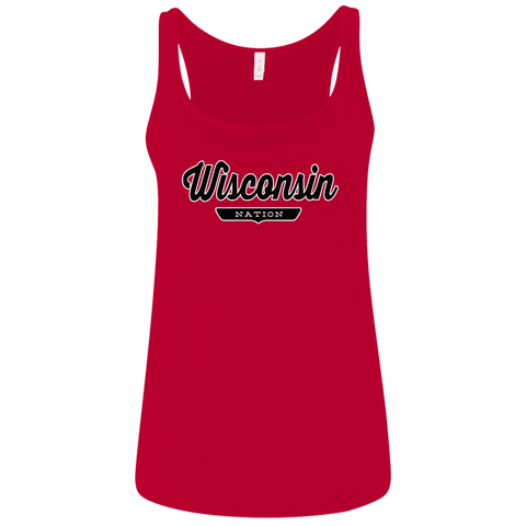 Wisconsin Women's Tank Top - The Nation Clothing