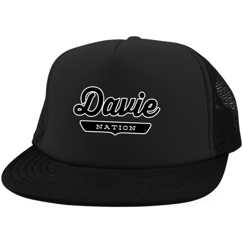 Davie Trucker Hat with Snapback - The Nation Clothing