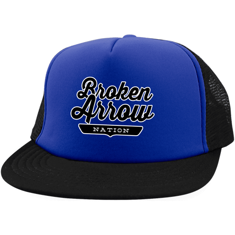 Broken Arrow Trucker Hat with Snapback - The Nation Clothing