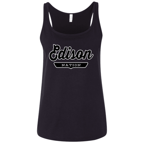 Edison Women's Tank Top - The Nation Clothing