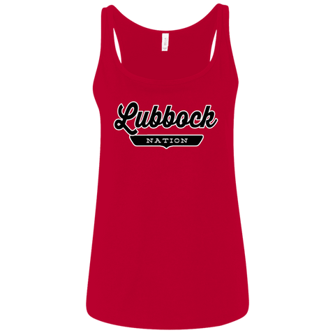 Lubbock Women's Tank Top - The Nation Clothing