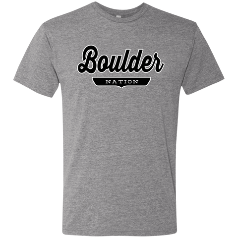 Boulder T-shirt - The Nation Clothing