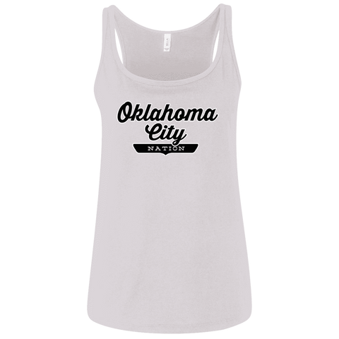 Oklahoma City Women's Tank Top - The Nation Clothing