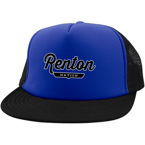 Renton Trucker Hat with Snapback - The Nation Clothing