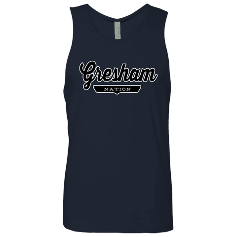 Gresham Tank Top - The Nation Clothing