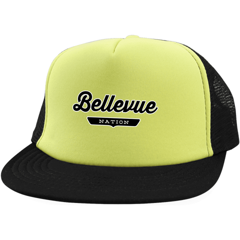 Bellevue Trucker Hat with Snapback - The Nation Clothing