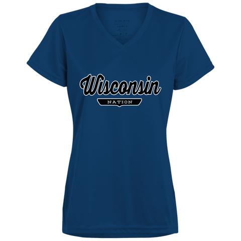 Wisconsin Women's T-shirt - The Nation Clothing