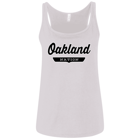 Oakland Women's Tank Top - The Nation Clothing