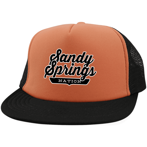 Sandy Springs Trucker Hat with Snapback - The Nation Clothing