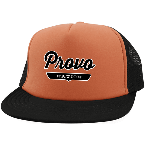 Provo Trucker Hat with Snapback - The Nation Clothing