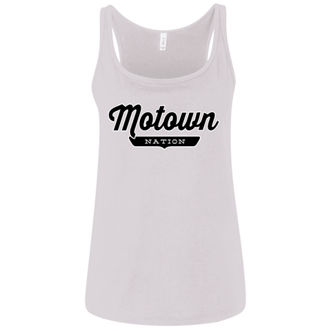 Motown Women's Tank Top - The Nation Clothing