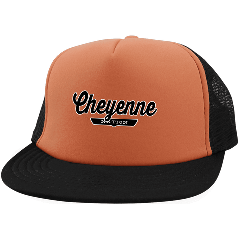 Cheyenne Trucker Hat with Snapback - The Nation Clothing