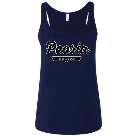 Peoria Women's Tank Top - The Nation Clothing