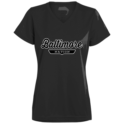 Baltimore Women's T-shirt - The Nation Clothing