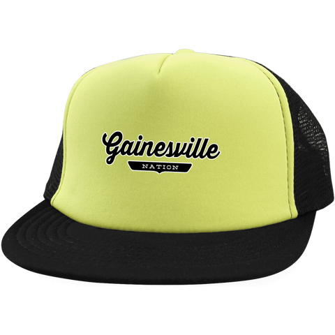Gainesville Trucker Hat with Snapback - The Nation Clothing