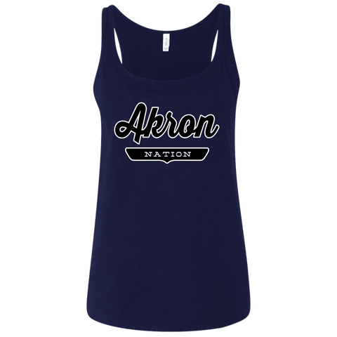 Akron Women's Tank Top - The Nation Clothing