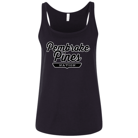 Pembroke Pines Women's Tank Top - The Nation Clothing