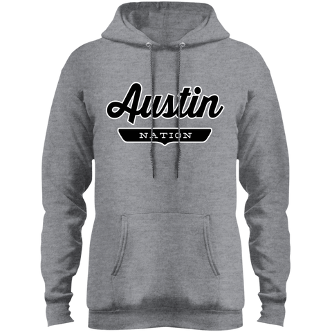 Athletic Heather / S Austin Hoodie - The Nation Clothing