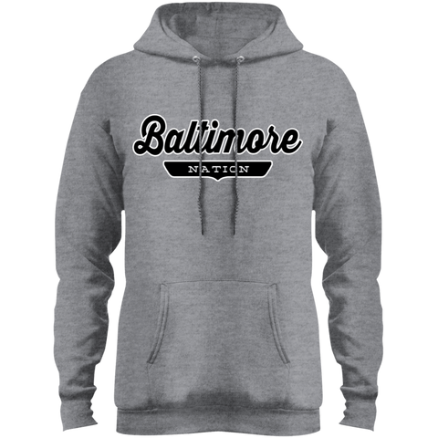 Athletic Heather / S Baltimore Hoodie - The Nation Clothing