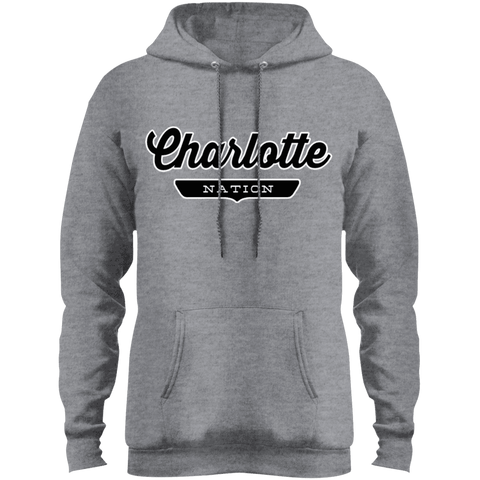 Athletic Heather / S Charlotte Hoodie - The Nation Clothing