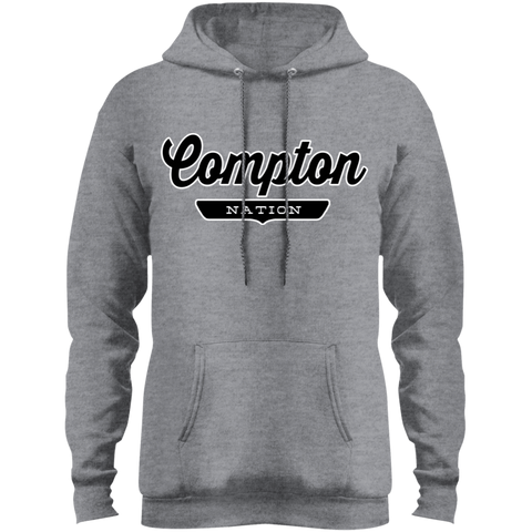 Athletic Heather / S Compton Hoodie - The Nation Clothing