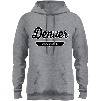 Athletic Heather / S Denver Hoodie - The Nation Clothing