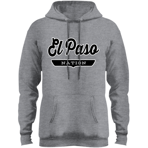 Athletic Heather / S El Paso Hoodie - The Nation Clothing