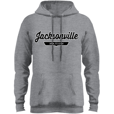 Athletic Heather / S Jacksonville Nation Hoodie - The Nation Clothing