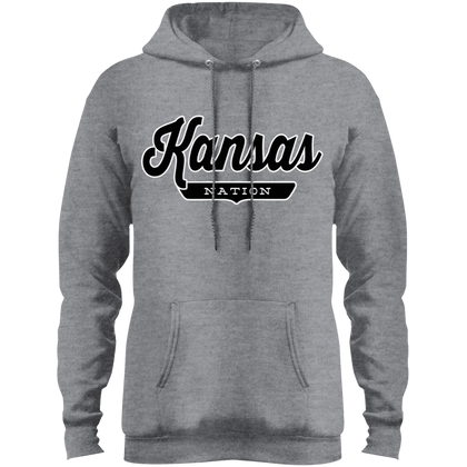 Athletic Heather / S Kansas Hoodie - The Nation Clothing