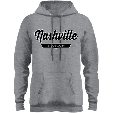 Athletic Heather / S Nashville Hoodie - The Nation Clothing