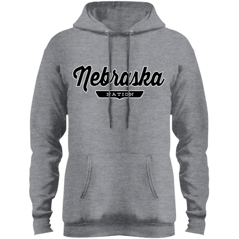 Athletic Heather / S Nebraska Hoodie - The Nation Clothing
