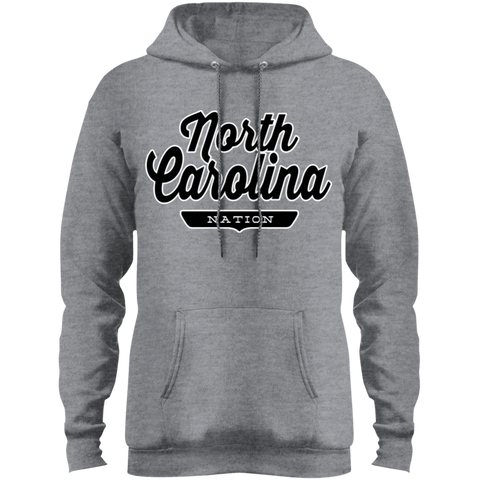 Athletic Heather / S North Carolina Hoodie - The Nation Clothing