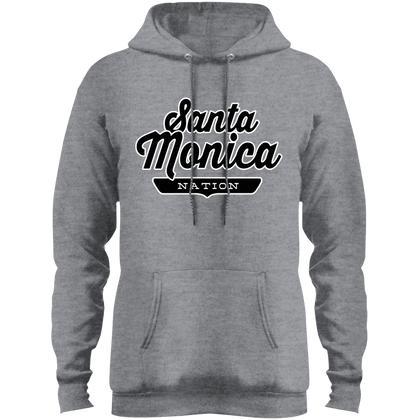 Athletic Heather / S Santa Monica Hoodie - The Nation Clothing