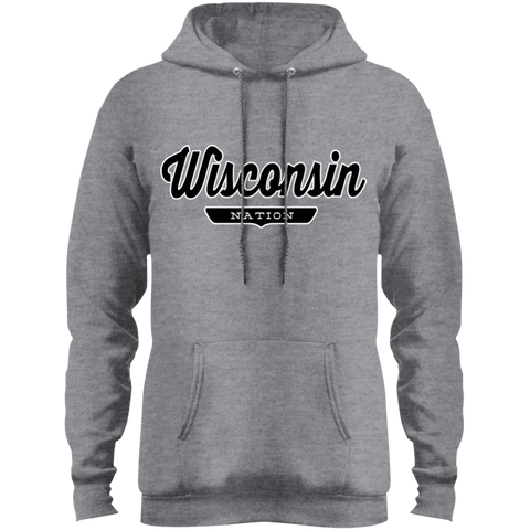 Athletic Heather / S Wisconsin Hoodie - The Nation Clothing