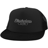 Black / One Size Birmingham Nation Trucker Hat with Snapback - The Nation Clothing