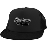 Black / One Size Durham Nation Trucker Hat with Snapback - The Nation Clothing