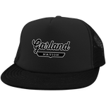 Black / One Size Garland Nation Trucker Hat with Snapback - The Nation Clothing