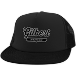 Black / One Size Gilbert Nation Trucker Hat with Snapback - The Nation Clothing
