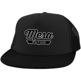 Black / One Size Mesa Nation Trucker Hat with Snapback - The Nation Clothing
