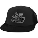 New Jersey Trucker Hat with Snapback - The Nation Clothing