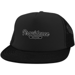 Black / One Size Providence Nation Trucker Hat with Snapback - The Nation Clothing
