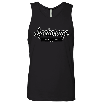 Black / S Anchorage Nation Tank Top - The Nation Clothing