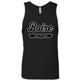 Black / S Boise Nation Tank Top - The Nation Clothing